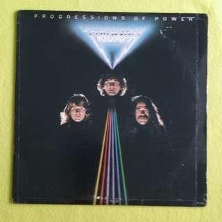TRIUMPH. progressions of power. Vinyl record