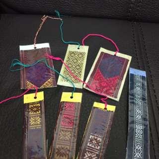 不丹 手工 織布 書籤