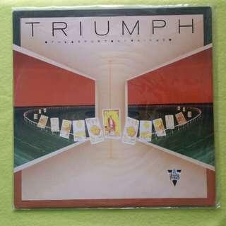 TRIUMPH. the sport of kings. Vinyl record