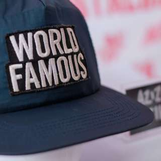 SUPREME WORLD FAMOUS SNAPBACK