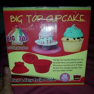 Big Top cupcake silicone bakeware