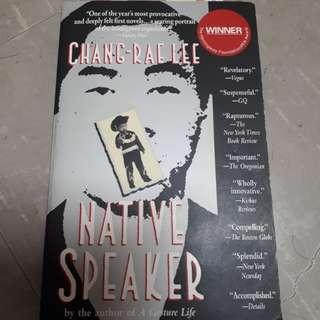 NTU HL8031 Native Speaker by Chang Rae-Lee