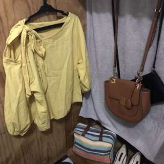 Yellow Ribbon Top