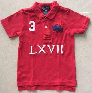 Polo Ralph collar T-shirt