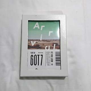 !!!FREE SHIPPING!!! GOT7 Flight Log: Arrival album (Ever Ver.)
