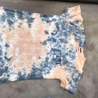 Stussy tie dye tshirt size small (oversized)