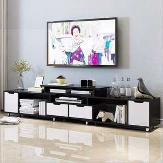 TV004,TV Closet Stretchable, Extendable TV table, Stretchable TV console,TV