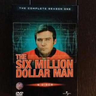 The Six Million Dollar Man Complete Season One DVD Set