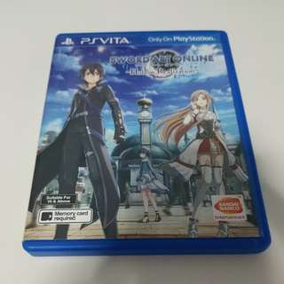 PS VITA SAO HOLLOW REALIZATION