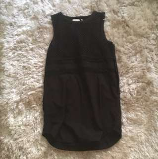 Black Goldie Dress Size 12