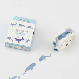 Whimsical Whale Washi Tape