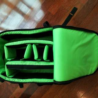 Camera bag with trolley & wheels