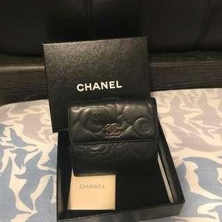 100%real 85%new chanel short wallet 短銀包