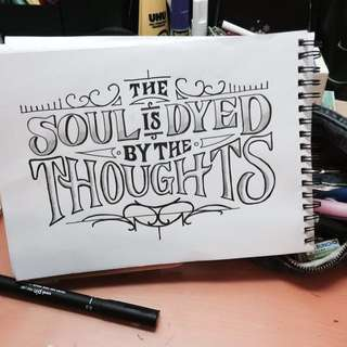Drawing Service for Quotes/Phrases