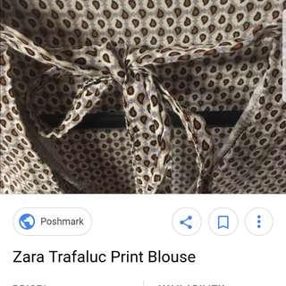 Zara xs trafaluc