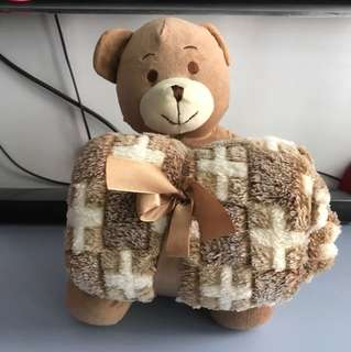 Brand New bear with Towel