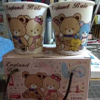 英國熊對杯(中型杯)