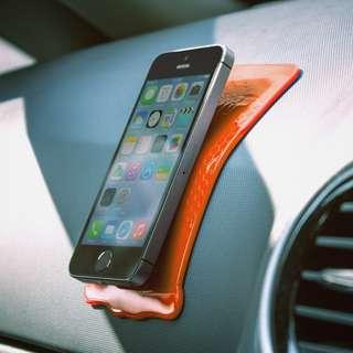 100%全新 創意車用電話座 超強防滑墊Grip Strip