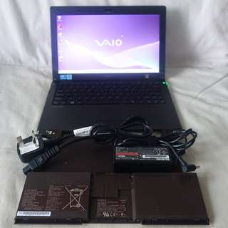 (Sale) Sony VAIO Superslim Ultrabook, 2 batteries, Can use SIM Card