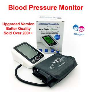 🚚 Blood Pressure Monitor BPM Arm Style