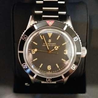 Steinhart Ocean One Vintage 瑞士製造 (保養至2019年12月) 99.99%新