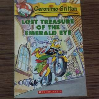 Geronimo Stilton : Lost Treasure Of The Emerald Eye