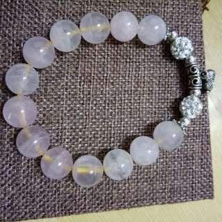 星光粉晶設計款手珠(12m)
