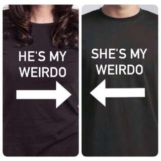 Weirdo Couple Tee Shirt