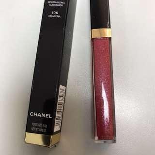 Chanel 唇彩全新 106 最新顔色AMAREMA