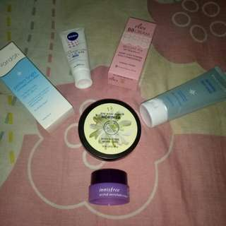 TAKE ALL 50RB The Body Shop, Innisfree, Pixy, Wardah, Nivea
