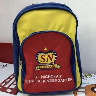 金巴倫(St Nicholas, SN)英文幼稚園書包