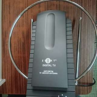 Indoor TV antenna and amplifier by EIGHT