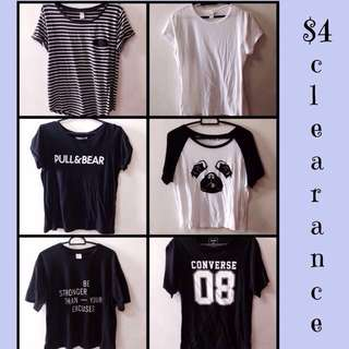$4 clothes clearance
