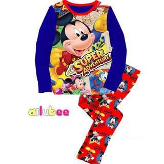 Blue MICKEY SUPER ADVENTURES Pyjamas (2Y-7Y)