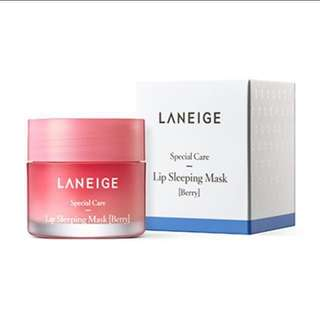BNIB Laneige Lip Sleeping Mask Berry 20g