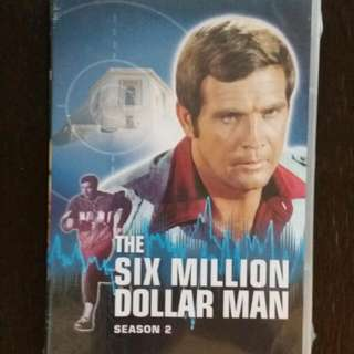 The Six Million Dollar Man Complete Season Two DVD Set