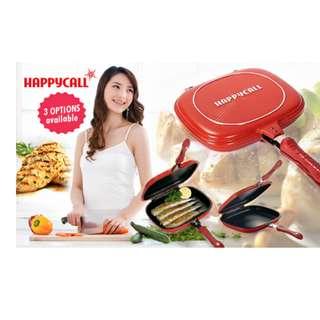 Teflon Multifungsi Happycall Frying Pan Happy Call Double Pan 32Cm