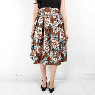 Belva Flower Skirt