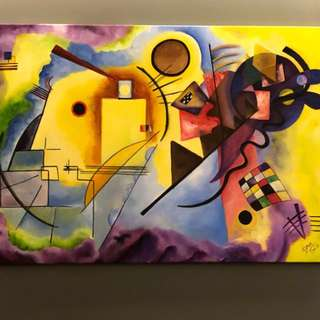 Hear the colors.. See the music.. Kandinsky inspired!!