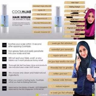 (INSTOCKS AVAIL) Authentic Cool Hijab Hair Serum 30ml