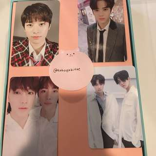 The Boyz The First Fresh Version photocard younghoon juyeon hyunjae sunwoo new hwall chanhee