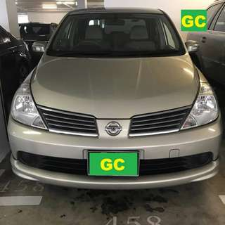 Nissan Latio RENT CHEAPEST RENTAL