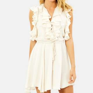 Shona Joy Solar Ruffle Dress - Size 8 RRP $295