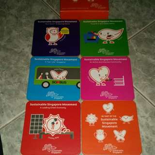 6 pcs of Coasters