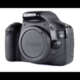 Canon 550D (T2i Rebel)