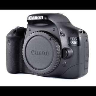 Canon 550D (T2i Rebel)