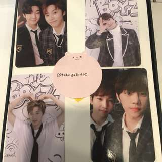 The Boyz The First Live version photocard kevin jacob Q changmin eric sangyeon sunwoo