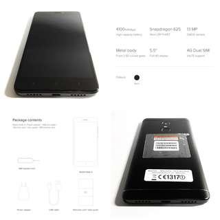 4GB RAM 64GB Redmi Note 4 (Black)