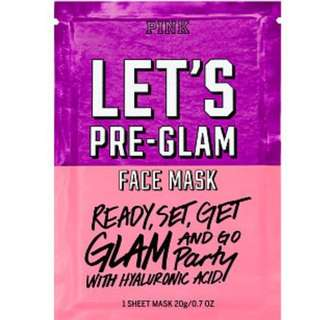 Vs let's pre glam face mask