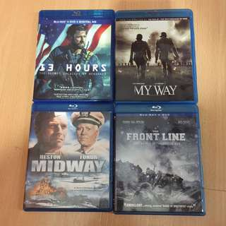 My Way - Korean War In Bluray